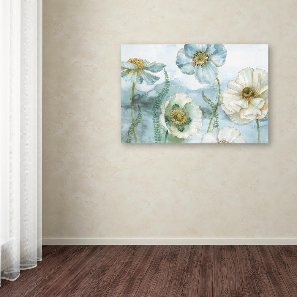Trademark Fine Art 12 in. x 19 in. ''My Greenhouse Flowers