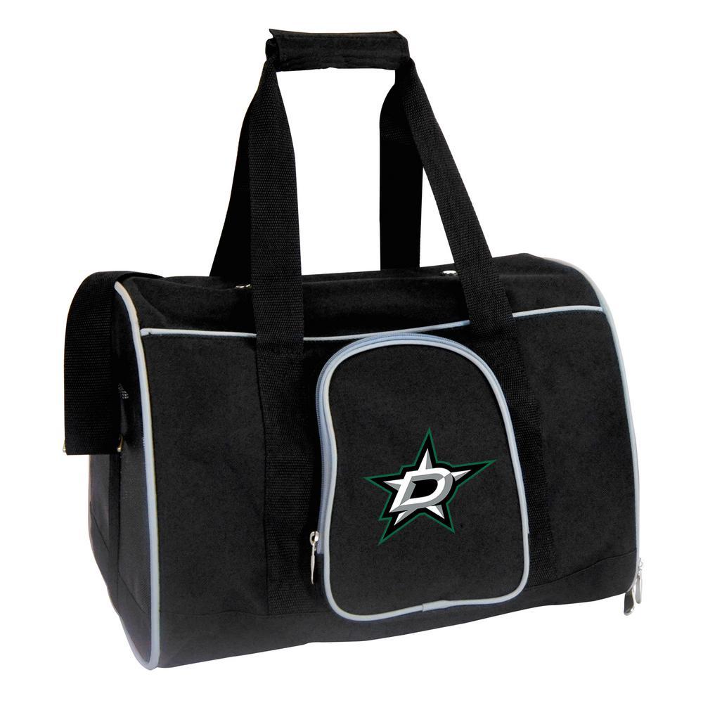 NHL Dallas Stars Pet Carrier Premium 16 in. Bag in Gray