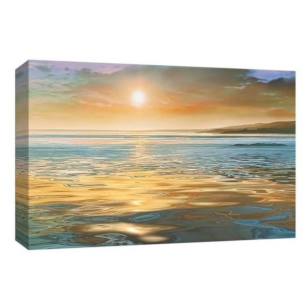 PTM Images 10 in. x 12 in. ''Evening Calm'' Canvas Wall