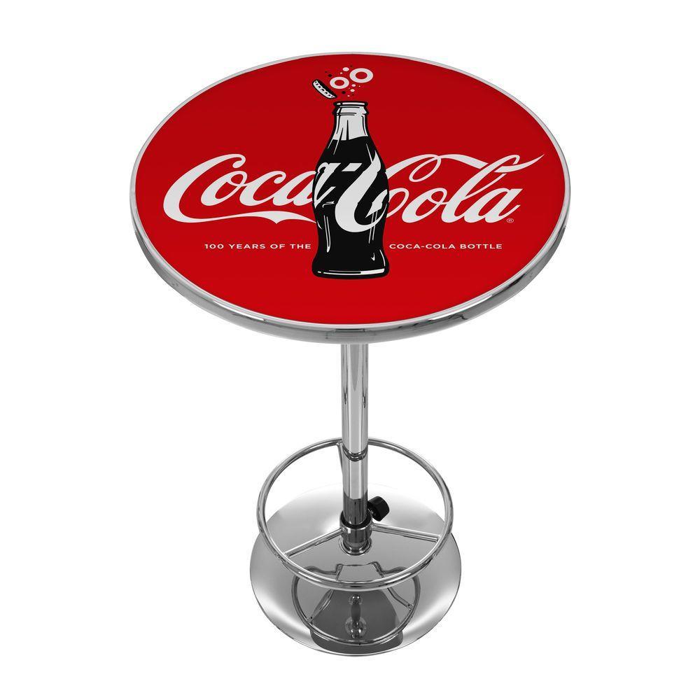 Coca-Cola 100th Anniversary Red Pub/Bar Table
