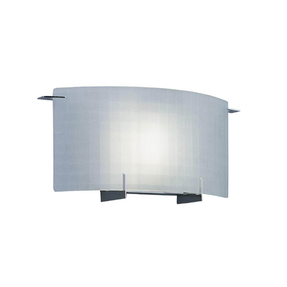 Designers Fountain Lane Collection 1-Light Chrome Wall Mount ...