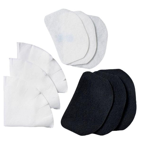 DeLonghi F6-12 Black and White Deep Fryer Replacement Filter (Set of