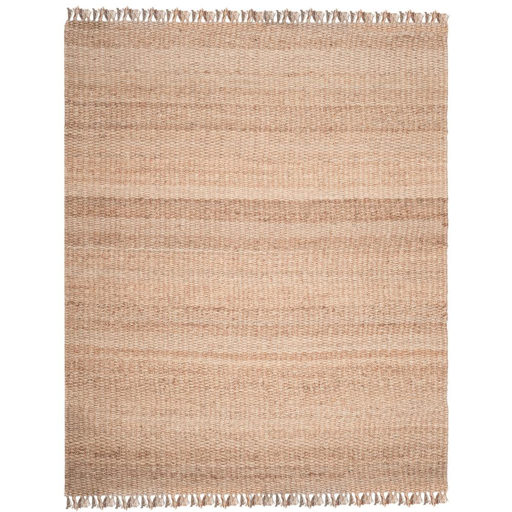 Natural Fiber Beige 9 ft. x 12 ft. Area Rug