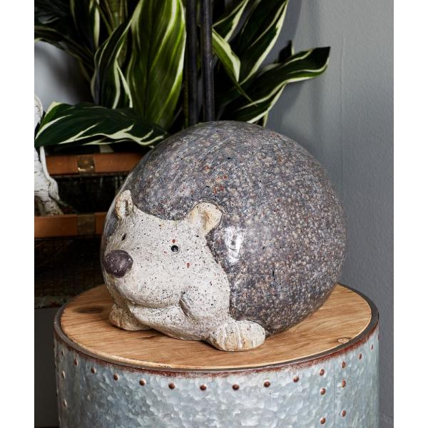 Litton Lane Hedgehog Polystone Sculpture 66911