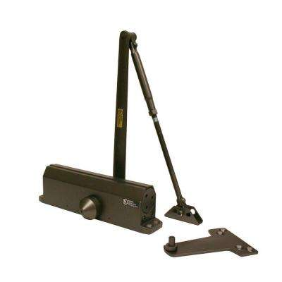 Heavy-Duty Bronze Commercial Door Closer