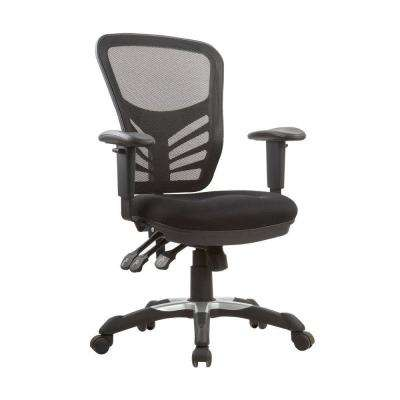 Governor Executive Mesh High-Back Black Adjustable Office Chair