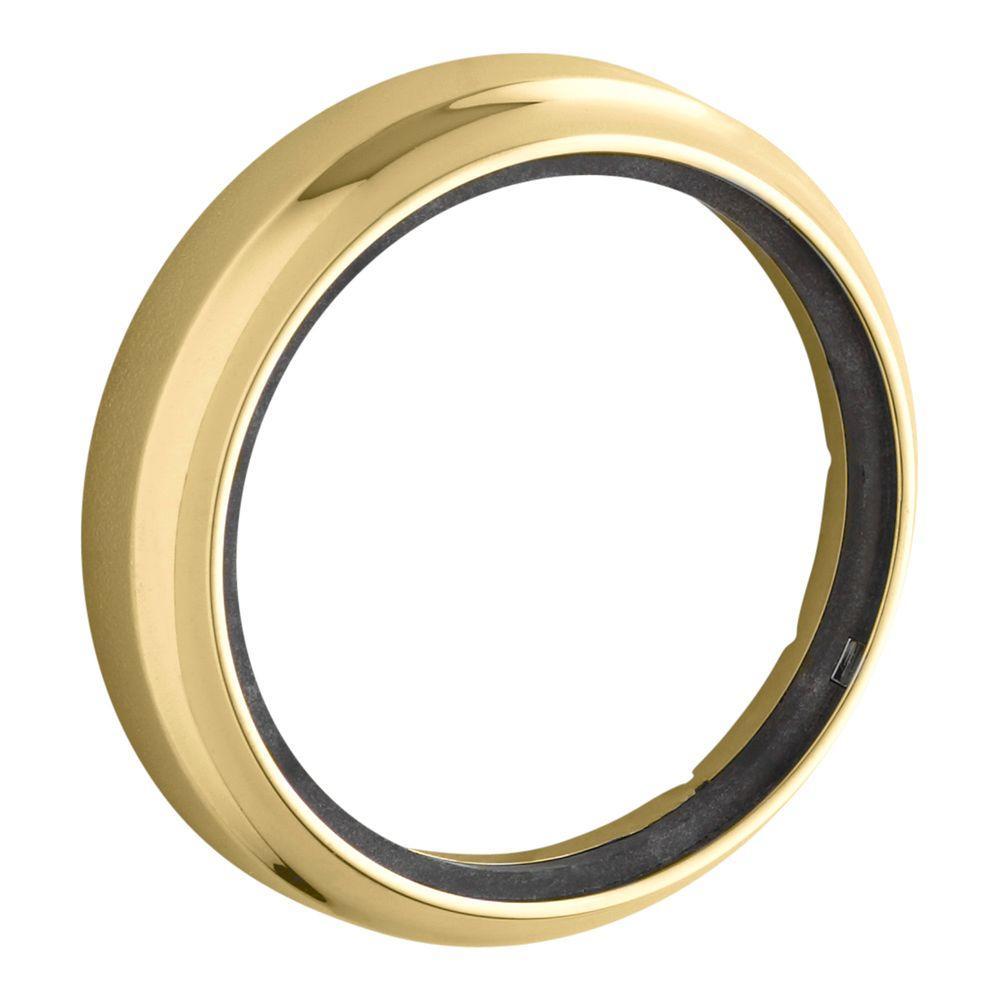 Whirlpool Keypad Trim in Vibrant Polished Brass