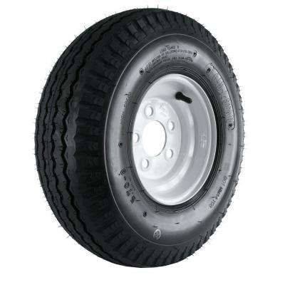 570-8 Load Range B 5-Hole Trailer Tire and Wheel Assembly