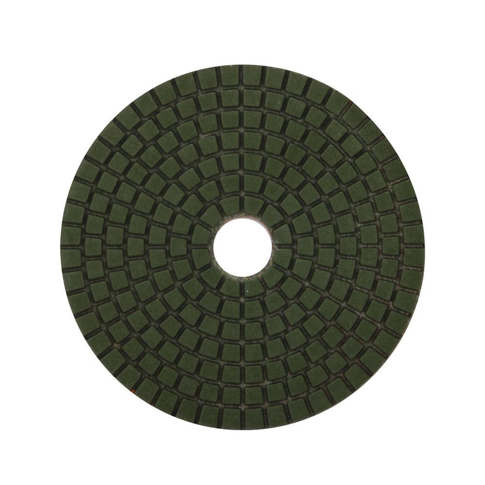 4 in. 200 Grit Resin Wet Polishing Pad