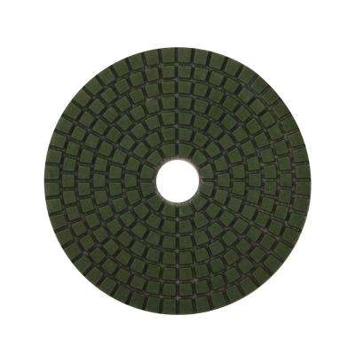 4 in. 200 Grit Resin Wet Polishing Pad