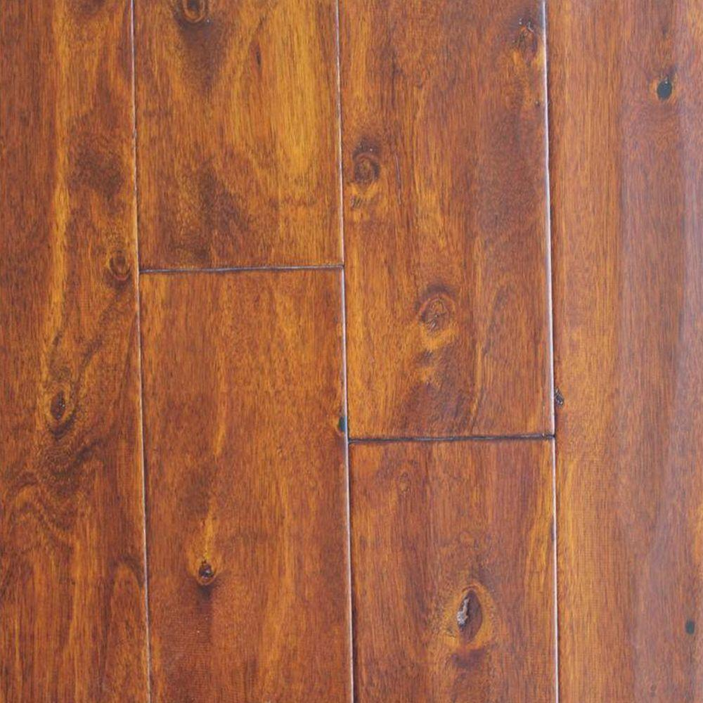 Installing 5 8 Inch Bamboo Flooring: HDC Eucalyptus Amber Hand Scraped 3/8 In. X 5 In. Wide X