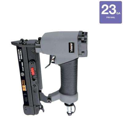 Pneumatic 1 in. x 23-Gauge Strip Headless Pin Nailer