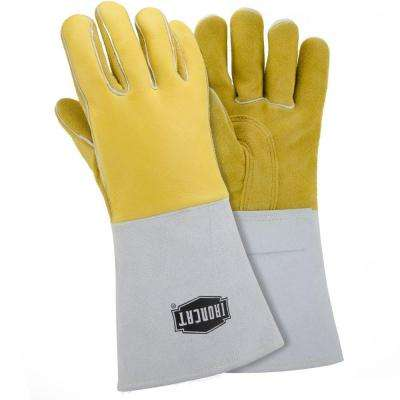 X-Large Top Grain Elk Welding Gloves