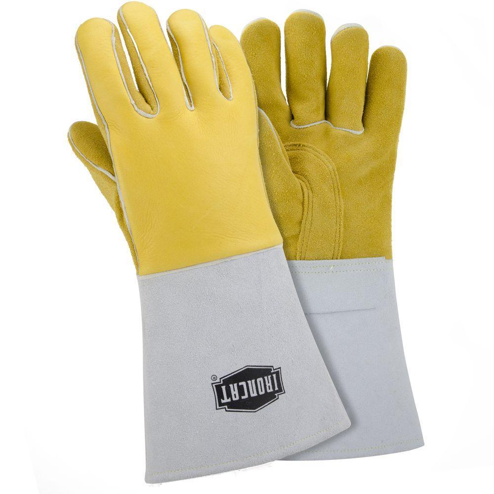 Ironcat X-Large Top Grain Elk Welding Gloves