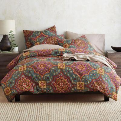Hampton Medallion Cotton Duvet Cover