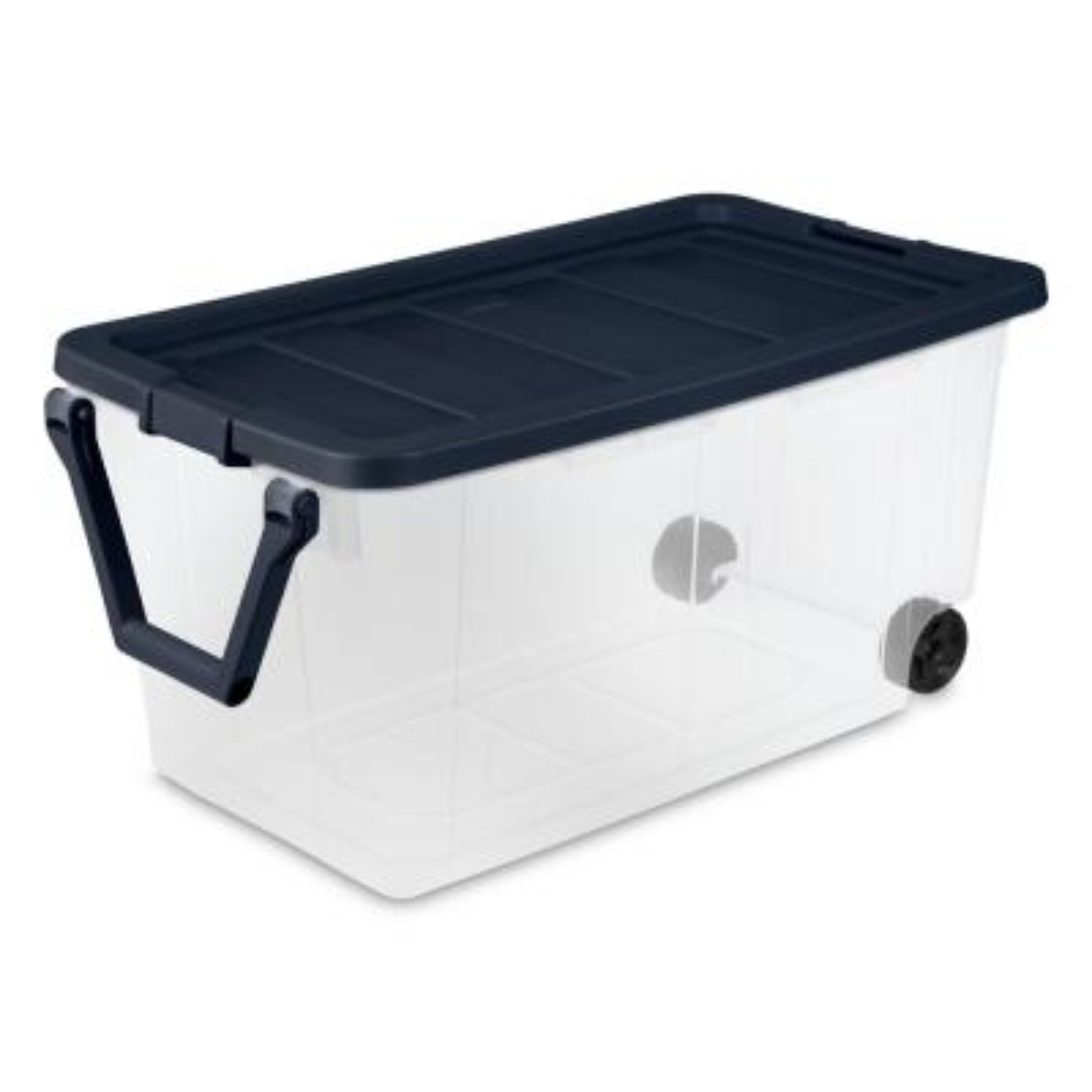 160 Qt. Wheeled Storage Box