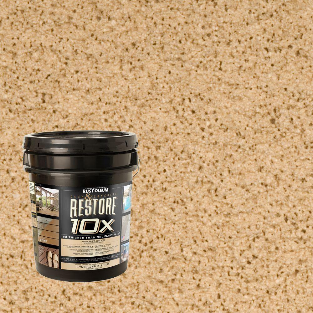 Rust-Oleum Restore 4-gal. Sandstone Deck and Concrete 10X Resurfacer