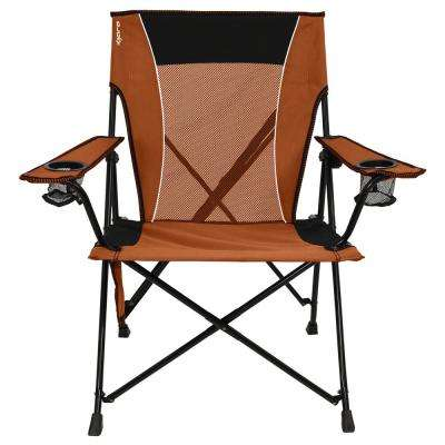 Victoria Desert Orange Dual Lock Chair