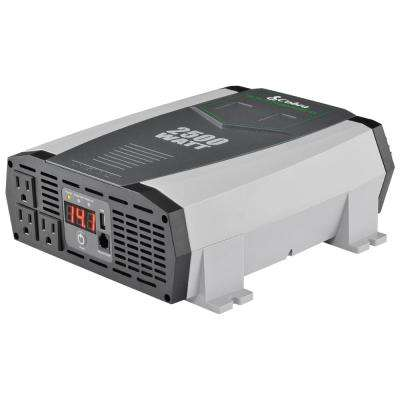 Professional 2500-Watt Power Inverter
