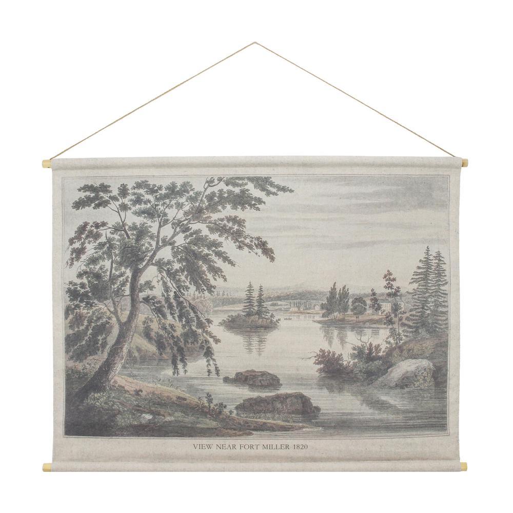 Fort Miller Hanging Linen Tapestry