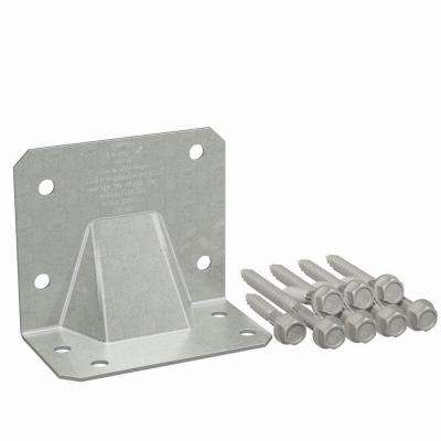 HGA Galvanized Hurricane Gusset Angle with SDS Screws (10-Qty)