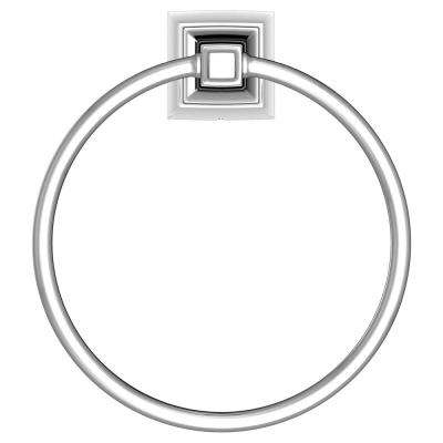TS Series Towel Ring in Chrome
