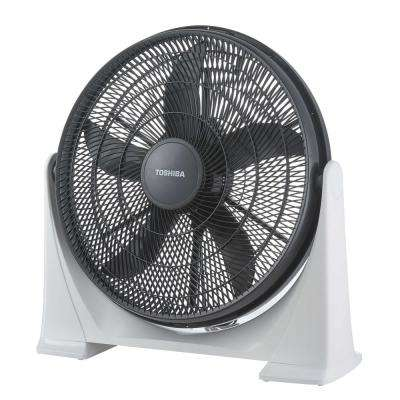 20 in. 3 Speed Box Fan