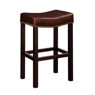 Fabulous Armen Living Bar Stools Kitchen Dining Room Furniture Squirreltailoven Fun Painted Chair Ideas Images Squirreltailovenorg