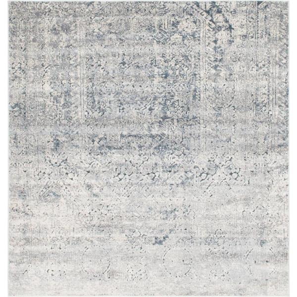 Chateau Quincy Gray 7' 0 x 7' 0 Square Rug