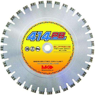 14 in. x 19 Segments Dry Cutting Diamond Circular Saw Blade
