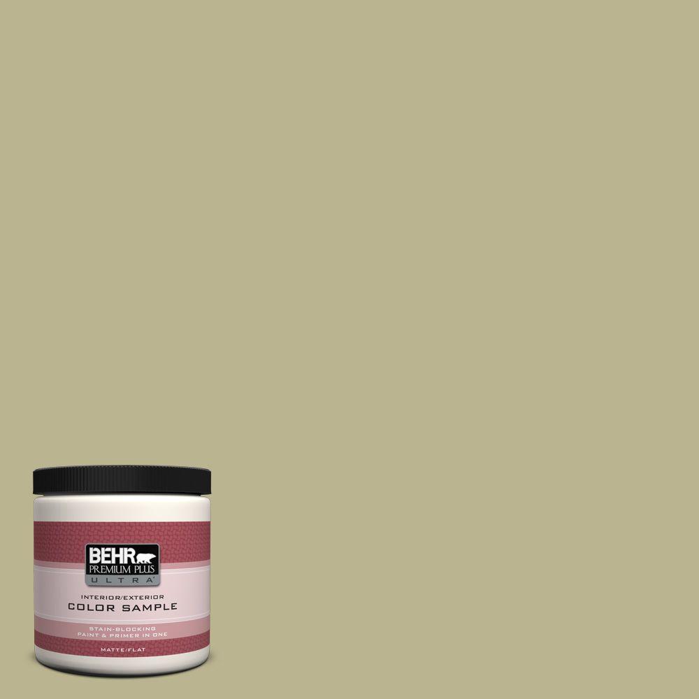 8 oz. #PPU9-10 Wasabi Powder Interior/Exterior Paint Sample