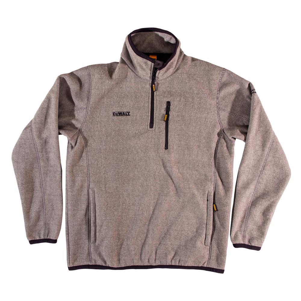 Men Fashion Tops Solid Color Half Zipper Round Neck Fleece Pullover Sweatshirts