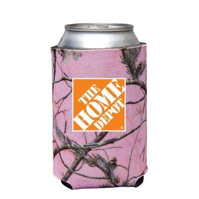 Can Cooler in Pink Camo