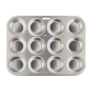 Click here to buy  Ss Muffin Pan (12-Cup).