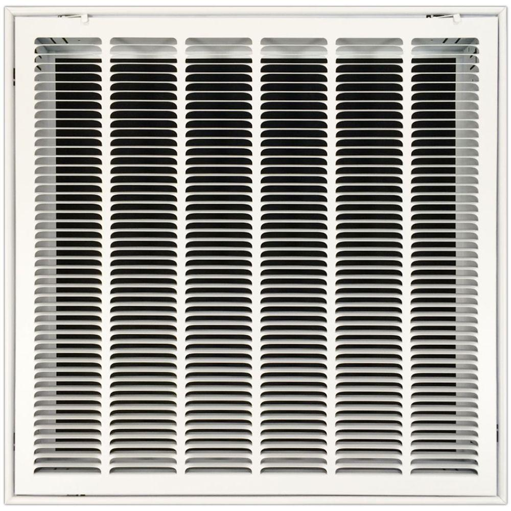 25 in. x 25 in. Return Air Vent Filter Grille with