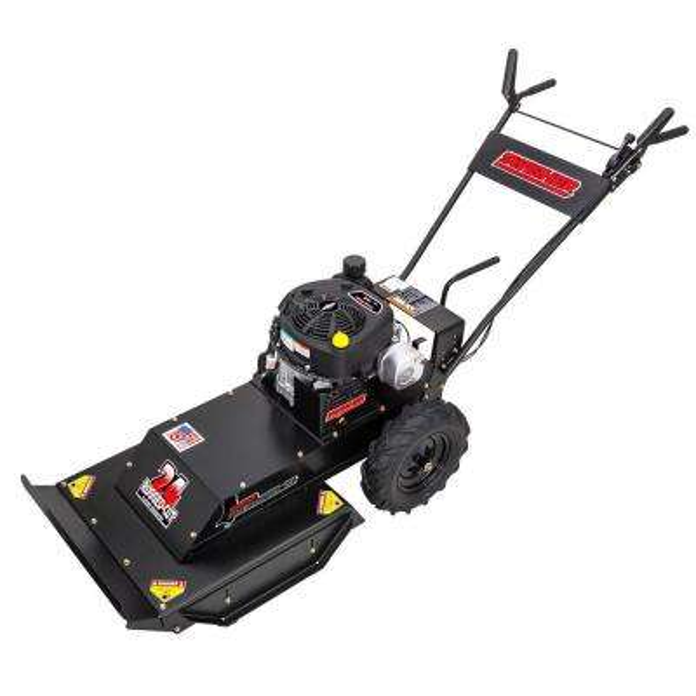 Predator 24 in. 11.5 HP Recoil Start Briggs & Stratton Gear Drive 4-Speed Self-Propelled Brush Cutter Gas Mower