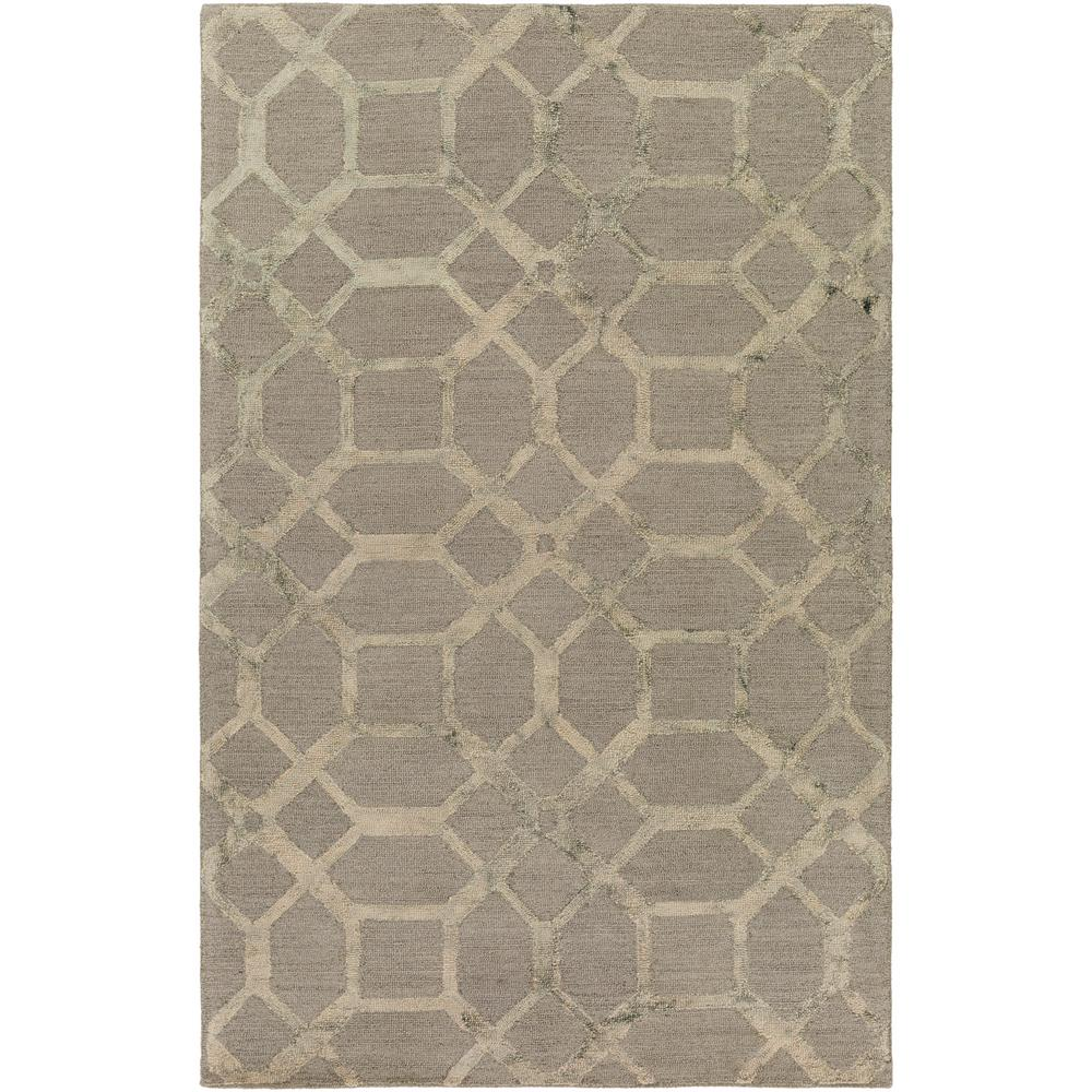 Organic Brittany Gray 9 ft. x 13 ft. Indoor Area Rug
