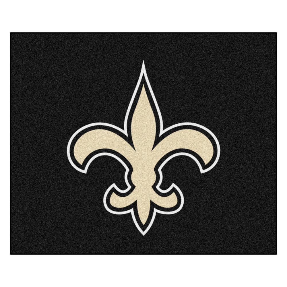NFL 6 ft. x 5 ft.New Orleans Saints Rug