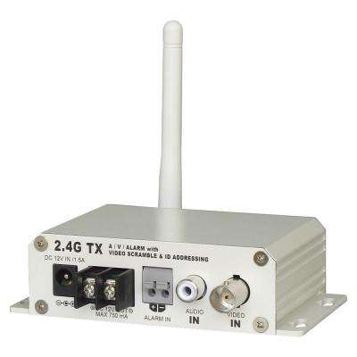 2.4GHz 4-Channel Single-Scan Scramble Wireless Transmitter