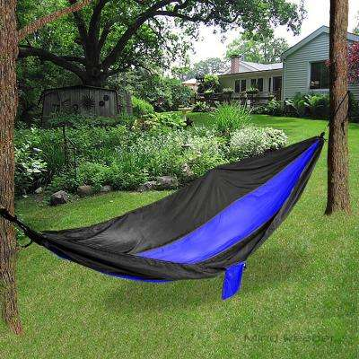8 ft. Portable Nylon Hammock with Iron Carabiner