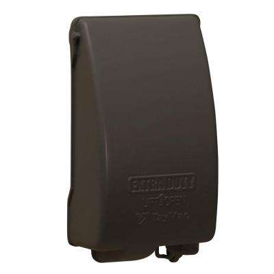 1-Gang Vertical Mount Weatherproof Expandable Low Profile Extra Duty While in Use Cover