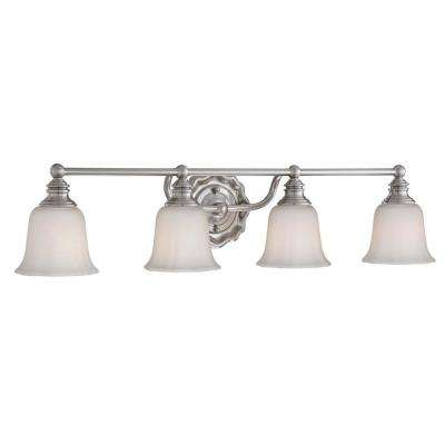 Lamport 4-Light Brushed Nickel Bath Light