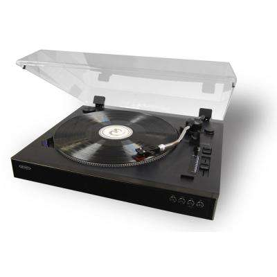 Professional 3-Speed Stereo Turntable with Speed Adjustment