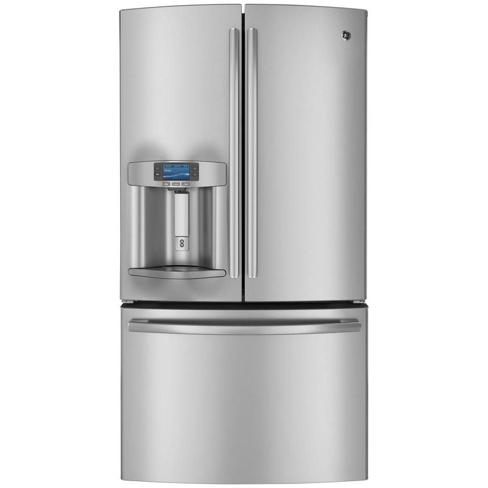GE Profile 28.6 cu. ft. French Door Refrigerator in Stainless Steel