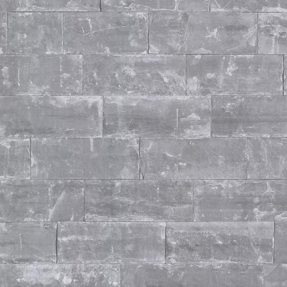 advantage 8 in  x 10 in  sacramento grey seamless slate wallpaper sample-2774-414622sam