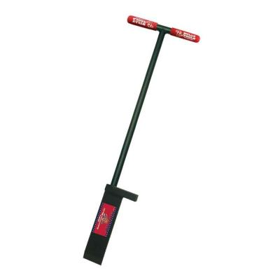 Bully Tools 92200 Heavy Duty Sidewalk and Ice Scraper with Long Steel Handle Pack of 2