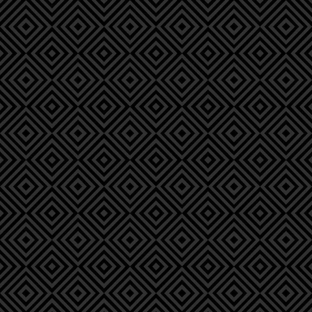 Beacon House Metropolitan Black Geometric Diamond Wallpaper Sample 2535-20656SAM
