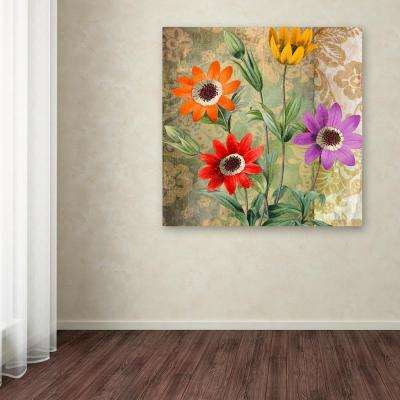 """24 in. x 24 in. """"Fiesta II"""" by Color Bakery Printed Canvas Wall Art"""