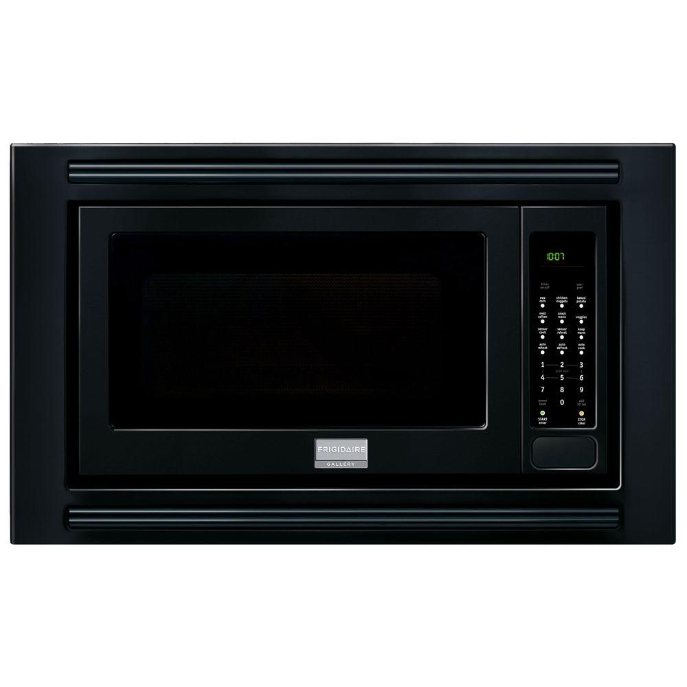 Frigidaire Gallery 2 0 Cu Ft Built In Microwave Black With Sensor Cooking