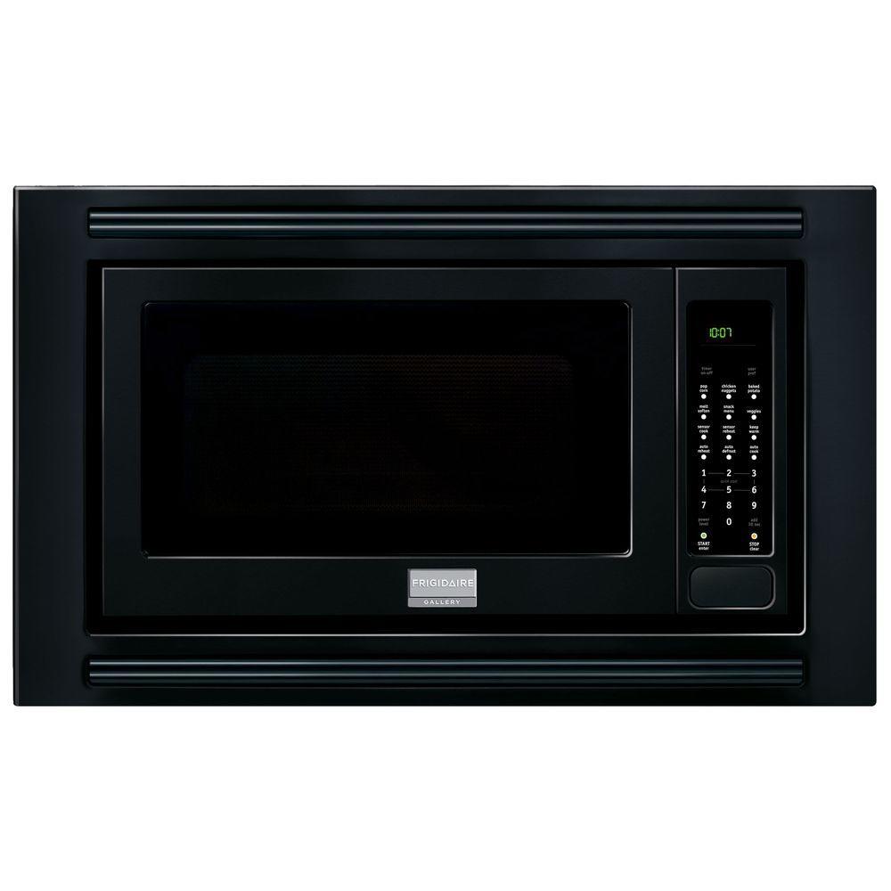 Frigidaire Gallery 2 0 Cu Ft Built In Microwave In Black